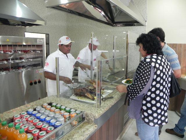 Reinauguração do Restaurante