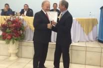 Sr. Arno recebe título de Cidadão Benemérito